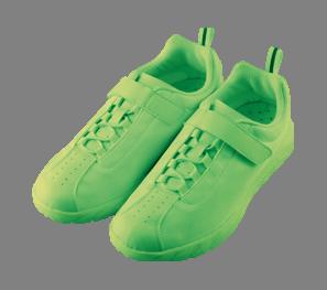 運動靴(蛍光グリーン)