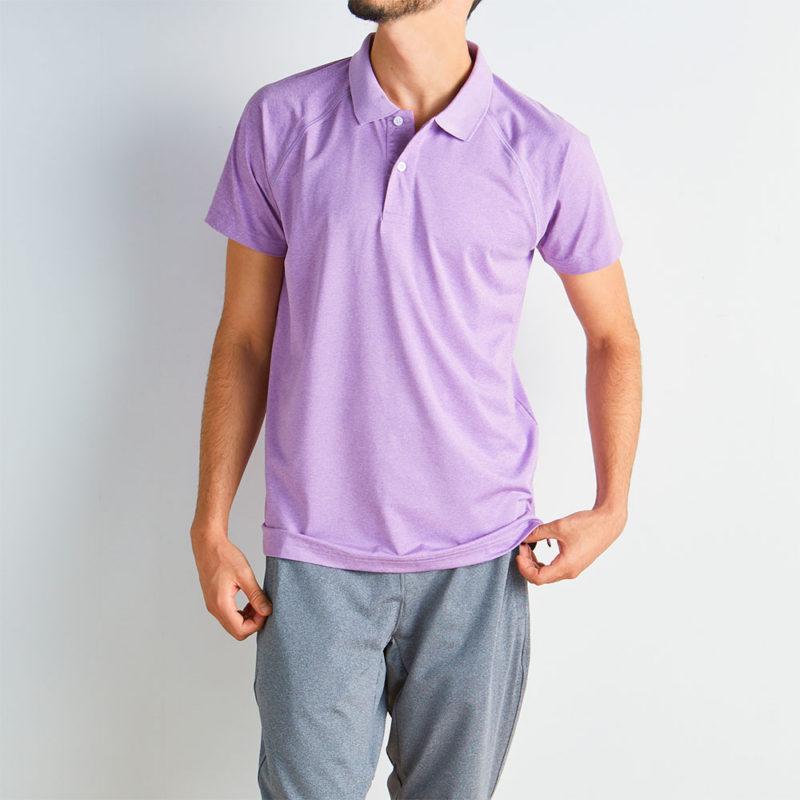 Fitness Stretch Polo Shirt