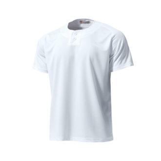 セミオープンベースボールシャツ
