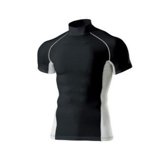 ハイネックインナーシャツ半袖